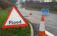 Flooding closes road with wet weather set to continue across Devon