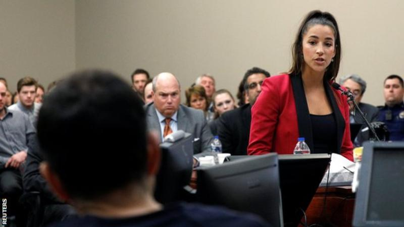 USA Gymnastics abuse scandal: Triple Olympic champion Aly Raisman wants inquiry