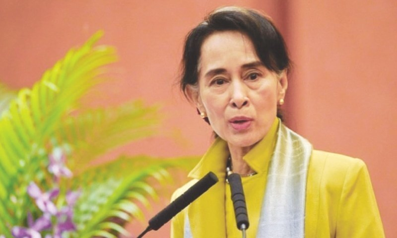 Suspect arrested for petrol bomb thrown at Suu Kyi's Yangon villa
