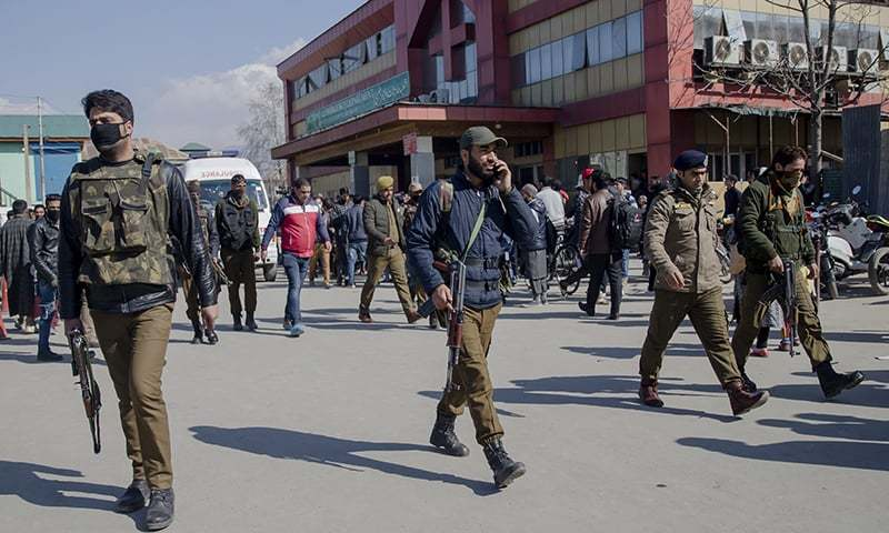 Suspected militant freed by gunmen from Srinagar hospital