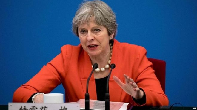 Brexit: Theresa May to fight EU transition residency plan